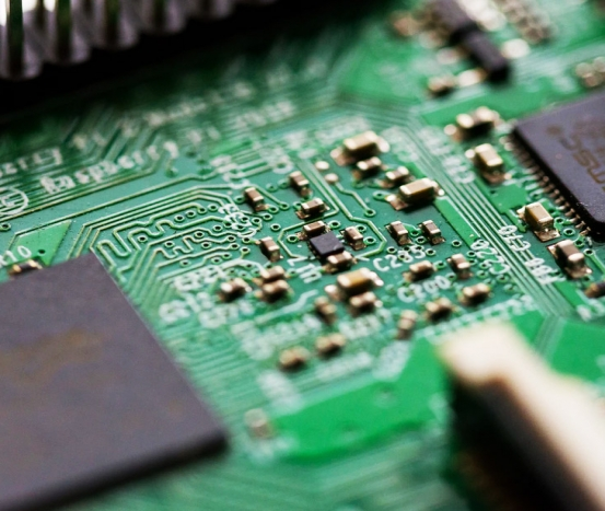 Electronic parts processing
